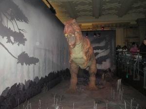Tiranossauro Rex apavorando geral
