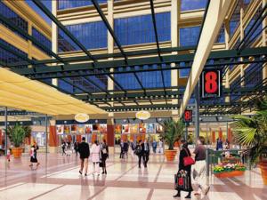 Na Galleria 8 dá para encontrar muitas lojas e promoções
