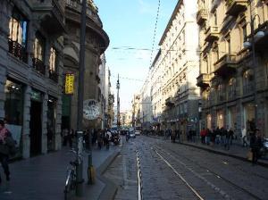 A Via Torino reúne vários tipos de lojas
