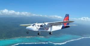 Um dos aviões da Samoa Air
