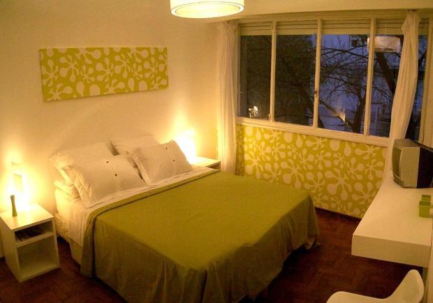 Um dos quartos do BA Soho Rooms