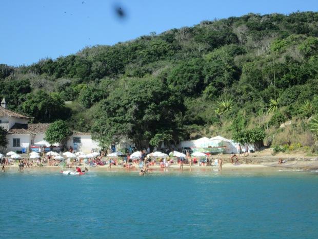 Praia João Fernandes, em Búzios