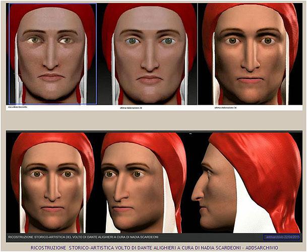 Retrato de Dante Alighieri