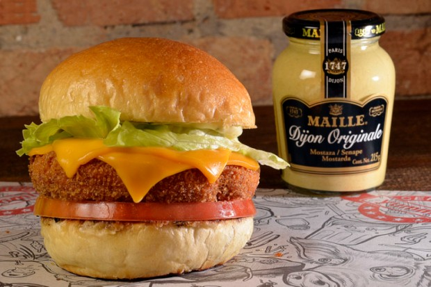 Lanche de frango do Big Kahuna Burguer