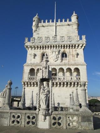 Fachada da torre
