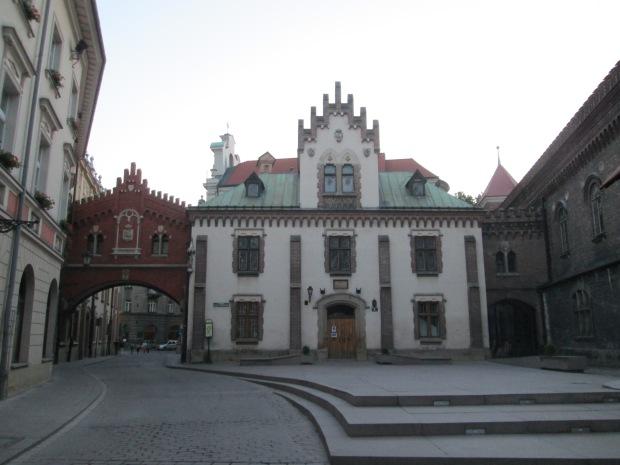 Centro velho de Cracóvia