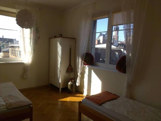 Foto de um dos quartos