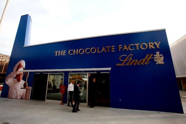 Fábrica de chocolates da Lindt