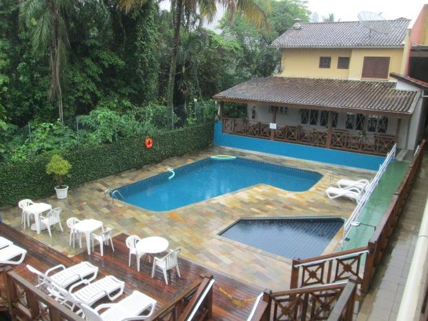 Piscina do Hotel Canto do Rio