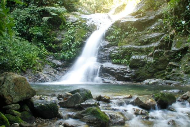 Cachoeira em Maresias