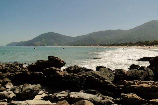 Praia de Maresias - Canto da Barra