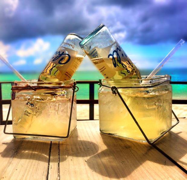 4 - Cervejas chill feitas com agua do mar em coquetel