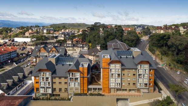 Vista aérea do Prodigy Hotel Gramado
