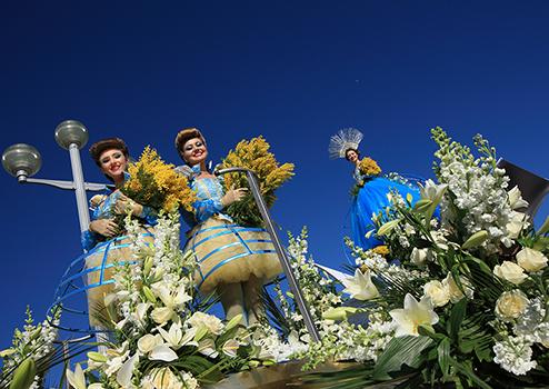 Flower Parade Nice França Carnaval