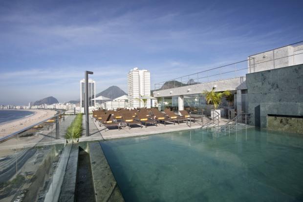 Piscina do Windsor Leme Rio de Janeiro Hotel