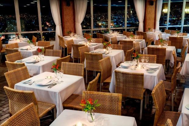 Restaurante Varandão, do Belo Horizonte Othon Palace