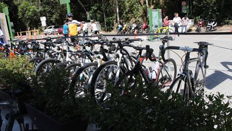 paineiras bicicleta