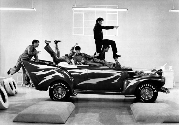 Grease Nos tempos da brilhantina, dir. Randal Kleiser, 1978. Acervo Marc Wanamaker Bison Archives